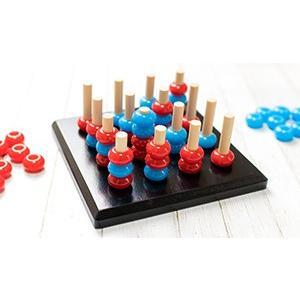 TOYARTs 立体四目並べ 3D Four Eyed RED-BLUE Game toyarts 10