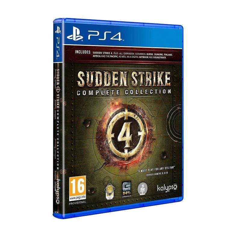 【取り寄せ】Sudden Strike 4 - Complete Collection /PS4 輸入版