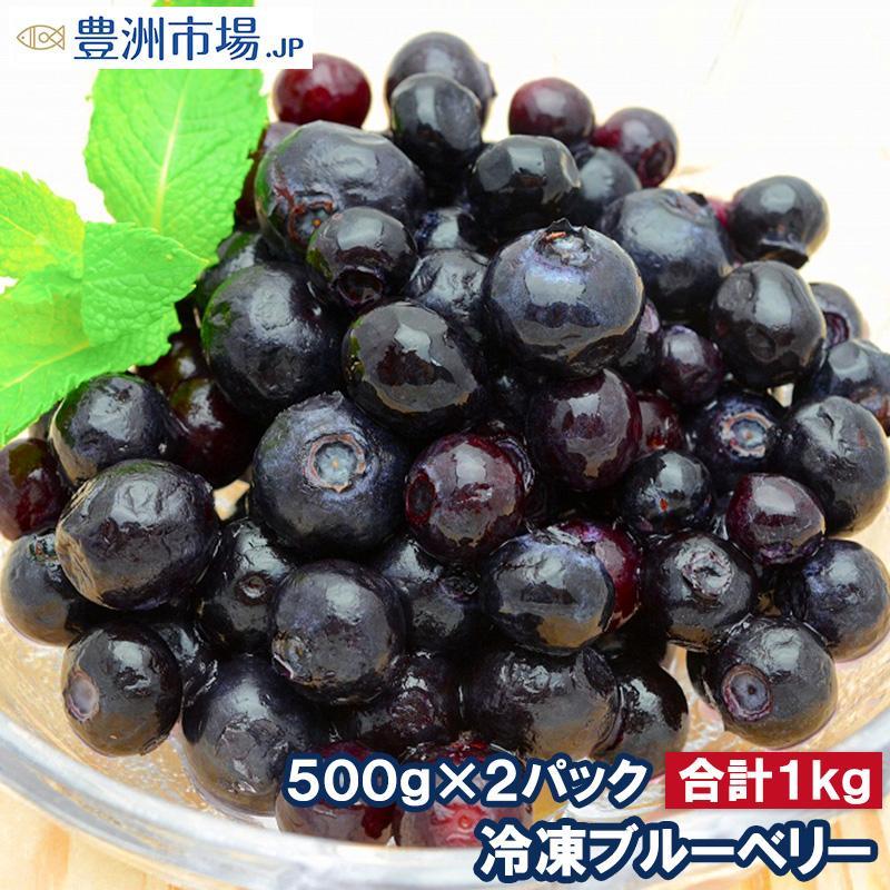 ブルーベリー 冷凍ブルーベリー 1kg 500g×2パック 冷凍フルーツ ヨナナス|toyosushijou