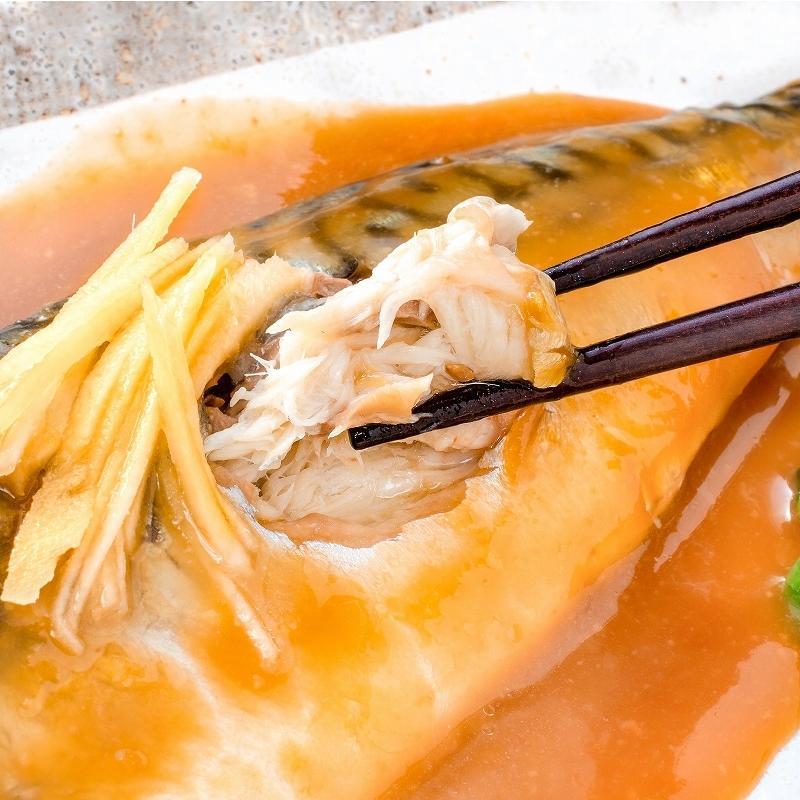 煮魚セット 魚菜パックセット×3 合計15パック 銀鮭塩焼 さば塩焼 さば味噌煮 さば煮付け かれい煮付け 焼き魚 塩焼き 煮付け 切り身 煮魚|toyosushijou|07