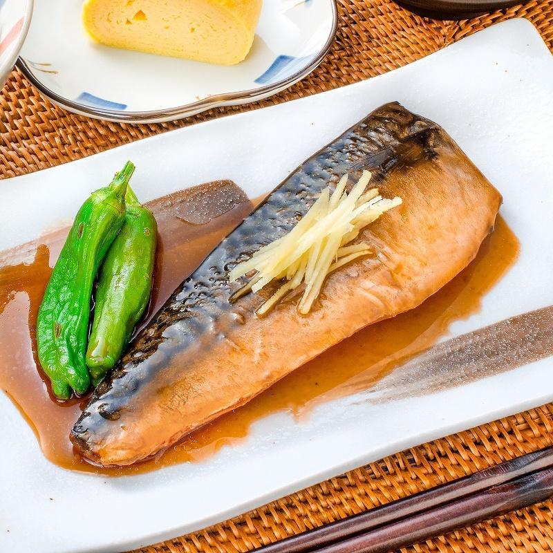 煮魚セット 魚菜パックセット×3 合計15パック 銀鮭塩焼 さば塩焼 さば味噌煮 さば煮付け かれい煮付け 焼き魚 塩焼き 煮付け 切り身 煮魚|toyosushijou|08