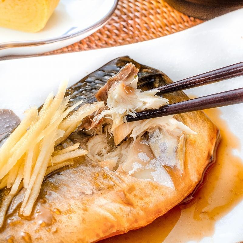 煮魚セット 魚菜パックセット×3 合計15パック 銀鮭塩焼 さば塩焼 さば味噌煮 さば煮付け かれい煮付け 焼き魚 塩焼き 煮付け 切り身 煮魚|toyosushijou|09