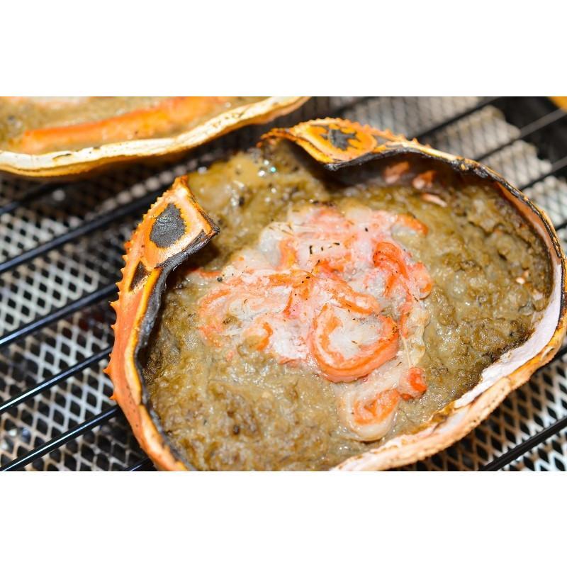 海鮮浜焼き 4種セット 海鮮バーベキューセット 北海道産ほたて10枚 かにみそ甲羅盛り2個 いかおやじ串10本 特大赤海老20尾 BBQセット|toyosushijou|07