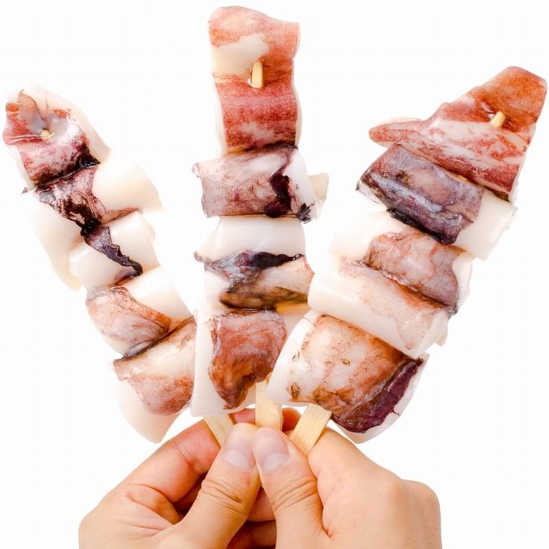 海鮮浜焼き 4種セット 海鮮バーベキューセット 北海道産ほたて10枚 かにみそ甲羅盛り2個 いかおやじ串10本 特大赤海老20尾 BBQセット|toyosushijou|09