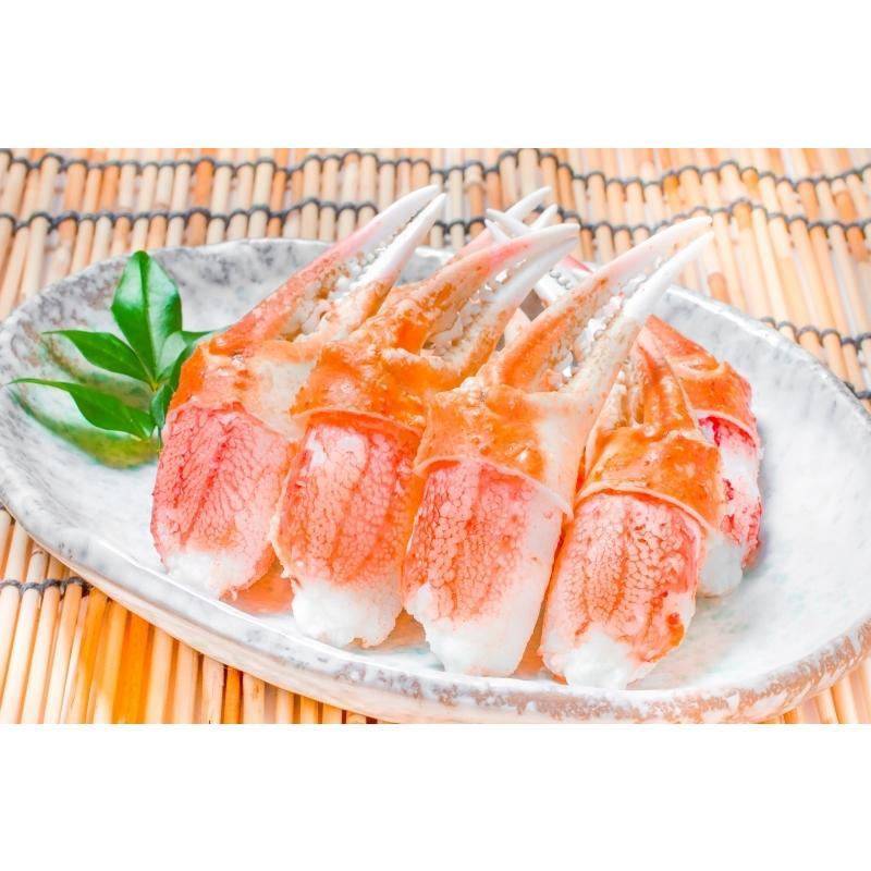 カニ爪 かに爪 かにつめ ボイル 1kg 3L 26〜30個 大サイズ 正規品 ズワイガニ ずわいがに かに カニ 蟹 かに鍋 焼きガニ|toyosushijou|03
