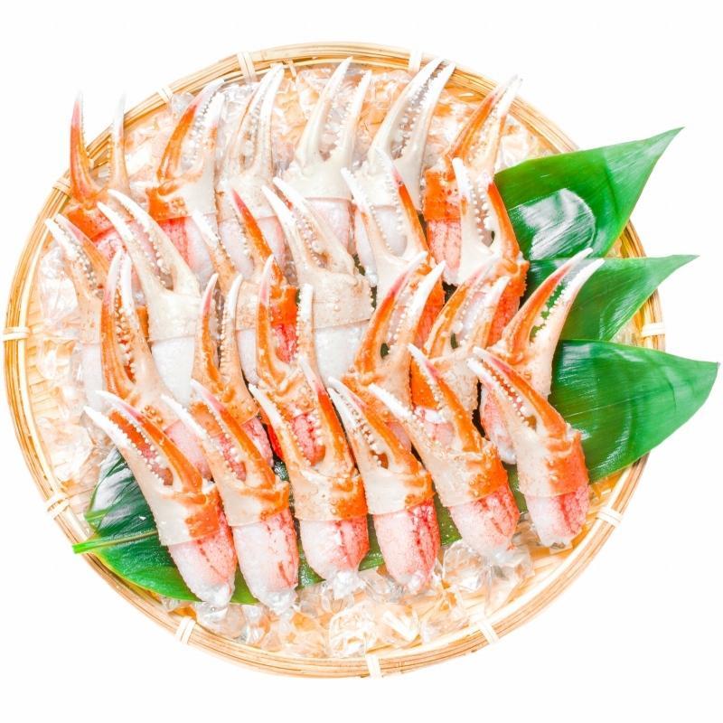 カニ爪 かに爪 かにつめ ボイル 1kg 3L 26〜30個 大サイズ 正規品 ズワイガニ ずわいがに かに カニ 蟹 かに鍋 焼きガニ|toyosushijou|05