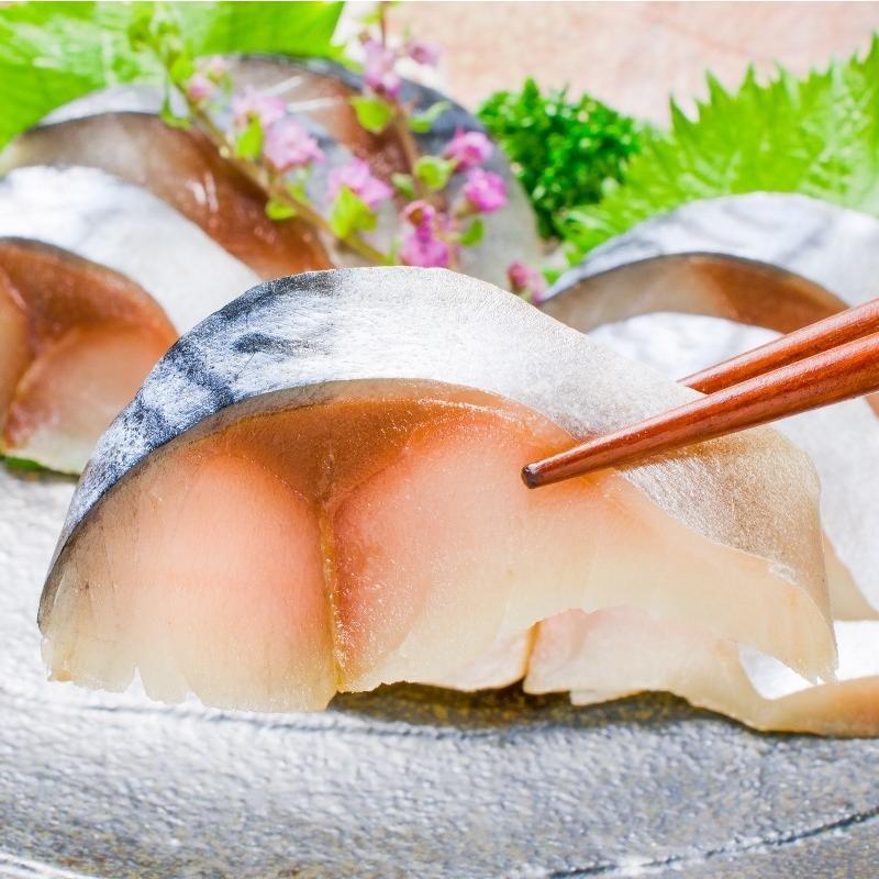 金華さば 金華サバ 燻製生ハム 1枚 さば サバ 鯖|toyosushijou|04