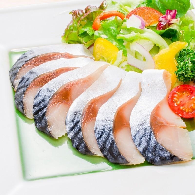 金華さば 金華サバ 燻製生ハム 1枚 さば サバ 鯖|toyosushijou|05