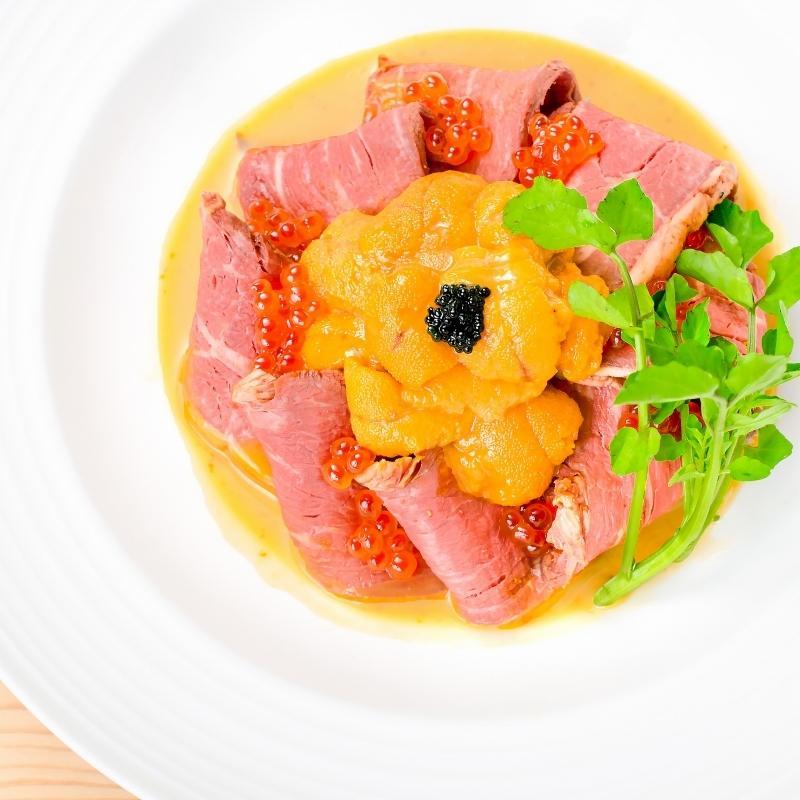 ウニイクラ丼セット うに 100g いくら 100g 生ウニ 生うに 冷凍 無添加 天然(ウニ うに 雲丹) toyosushijou 15