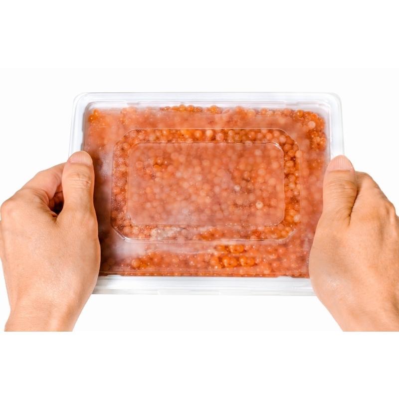 訳あり イクラ醤油漬け 1kg 500g×2 ロシア産 北海道製造 鱒いくら 鮭鱒いくら いくら醤油漬け|toyosushijou|12
