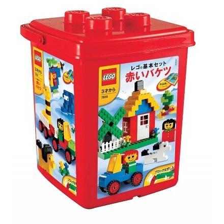 レゴ/LEGO 基本セット No. 7616 赤いバケツ 5702014745254