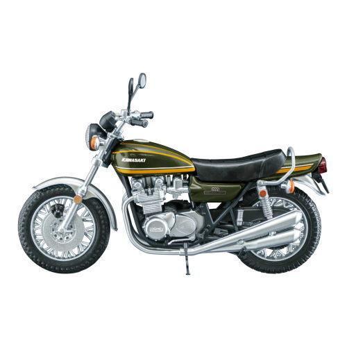 1 24スケール ヴィンテージバイクキット Vol.8 KAWASAKI 900Super4 750RS 1974年 US仕様 C ネコポス不可 4.Z1A 日本正規代理店品 イエロータイガー 返品送料無料