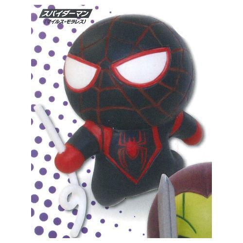 マーベル Kawaii Art プレゼント Figure 日本限定 3 カワイイ アート ネコポス不可 マイルス 2.スパイダーマン C フィギュア モラレス