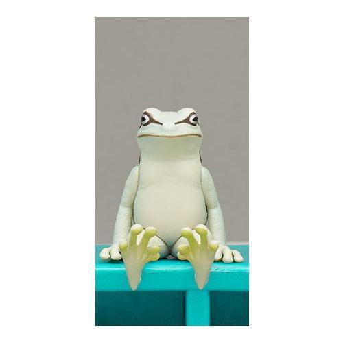 座る蛙 Ver1.5 4.シロ ネコポス配送対応 買い物 今季も再入荷 C