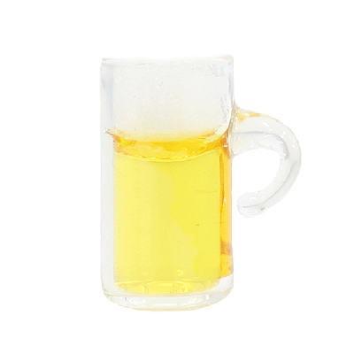 ミニチュアフード ビール入りビアジョッキ 期間限定特別価格 B P-93 最安値挑戦 ネコポス配送対応 m-s C