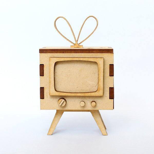 猫のミニチュア 昭和にゃんTV 付与 テレビ 1 12スケール 中古 ネコポス不可 完成品 ドールハウス C m-s