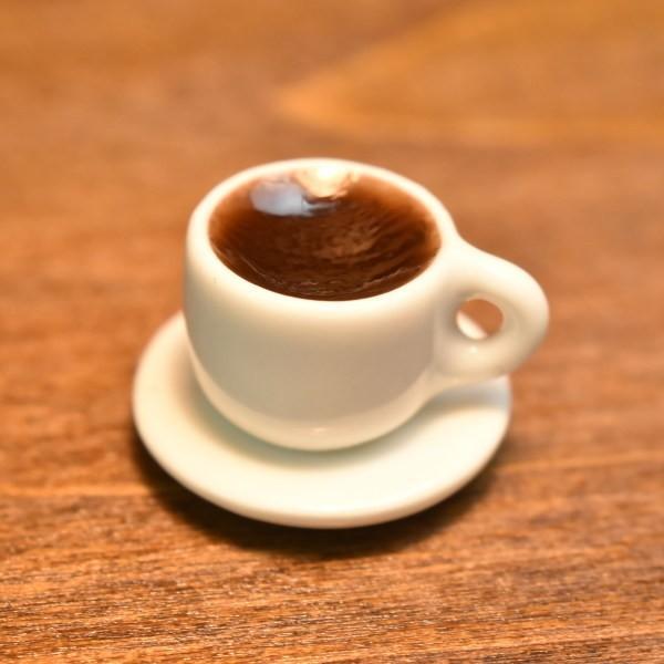 ミニチュアフード 在庫一掃売り切りセール 正規店 コーヒー入りコーヒーカップ SM-MCF21 ネコポス配送対応 m-s C