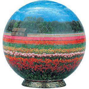 3D球体パズル 540ピース チューリップロード(2054-208) [やのまん]