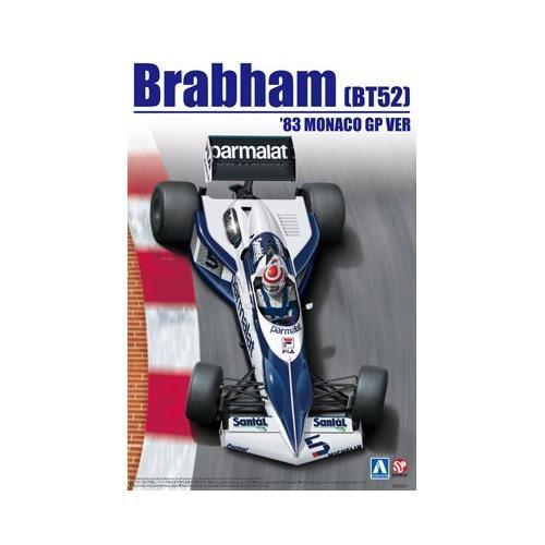 1/20 ブラバム BT52 '83 モナコグランプリ仕様 (098233) [スカイネット(アオシマ)]