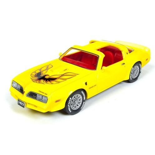 1:43 Ertl//Auto World Pontiac Firebird Trans Am 1977 yellow