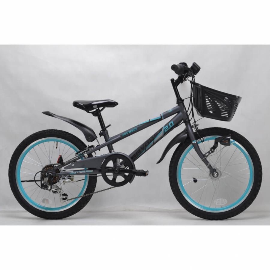 トイザらス AVIGO 20インチ 子供用自転車 サベージ CIデッキ オートライト(グレーブルー) toysrus-babierus