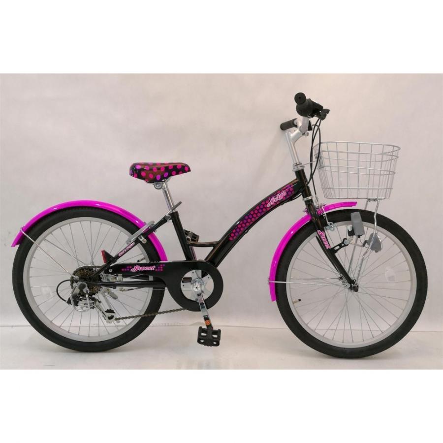 トイザらス AVIGO 22インチ 子供用自転車 スウィートノワール toysrus-babierus