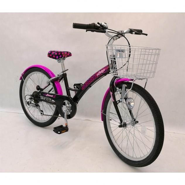 トイザらス AVIGO 22インチ 子供用自転車 スウィートノワール toysrus-babierus 02