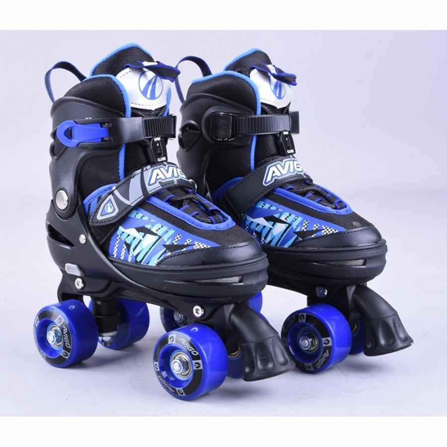 トイザらス AVIGO アジャスタブル ローラースケート ブルー(21〜23.5cm)【クリアランス】 toysrus-babierus 02