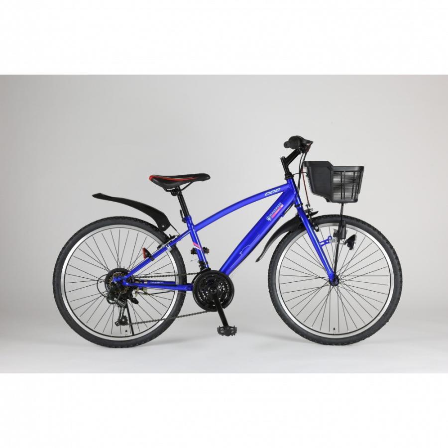 トイザらス限定 24インチ 子供用自転車 マセラティ ジュニアCTB-TZ(ブルー)【クリアランス】