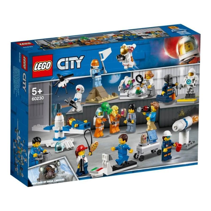 レゴ シティ 60230 ミニフィグセットー宇宙探査隊と開発者たち