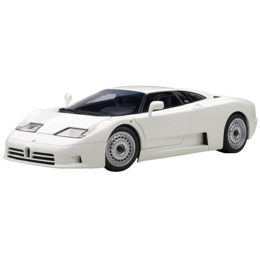 1/18 ブガッティ EB110 GT (ホワイト)【オンライン限定】【送料無料】