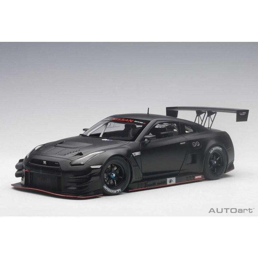 1/18 日産 GT-R NISMO GT3(マット・ブラック)【オンライン限定】【送料無料】