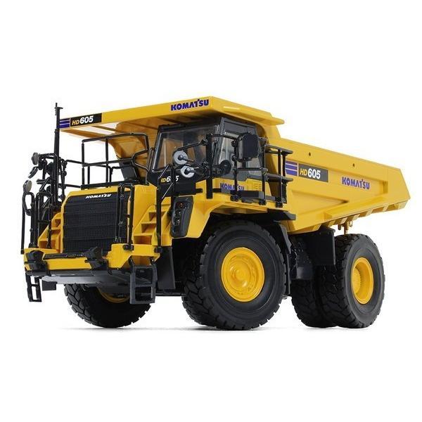 完成品ダイキャストミニカー 1/50 コマツ HD605-8 ダンプトラック FG50-3387 送料無料