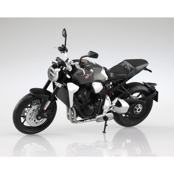スカイネット 1/12 完成品ダイキャストバイク Honda CB1000R ソードシルバーメタリック|toystadium-hobby