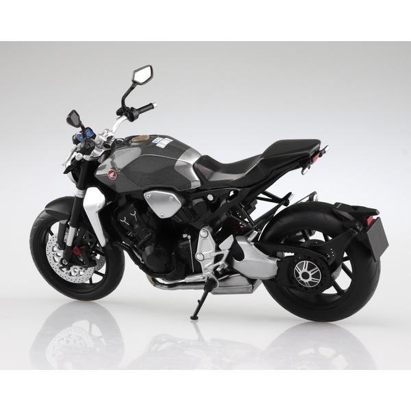 スカイネット 1/12 完成品ダイキャストバイク Honda CB1000R ソードシルバーメタリック|toystadium-hobby|02