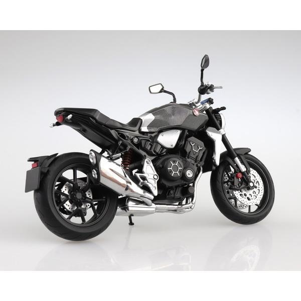スカイネット 1/12 完成品ダイキャストバイク Honda CB1000R ソードシルバーメタリック|toystadium-hobby|03