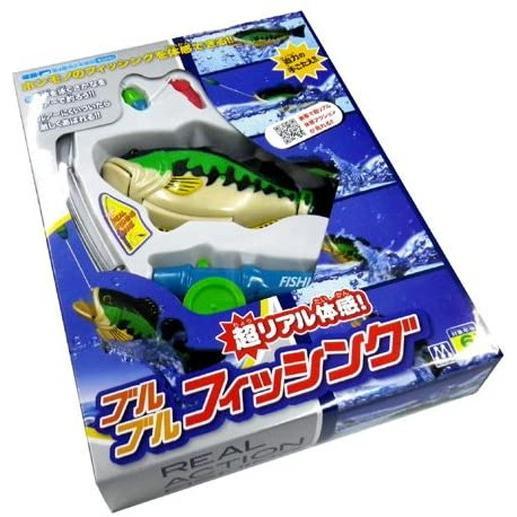 超リアル体感 ブルブルフィッシング 釣り ゲーム アクション