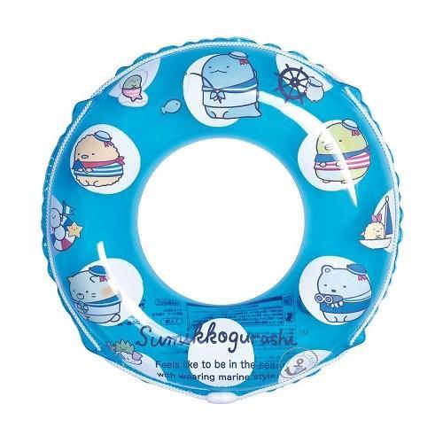 すみっこぐらし 60cmうきわ 浮き輪 ウキワ 海水浴 ファッション通販 正規取扱店 水遊び プール ネコポス送料無料