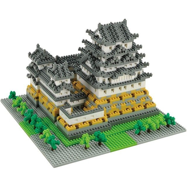 ナノブロック 姫路城 NB-006 nanoblock カワダ