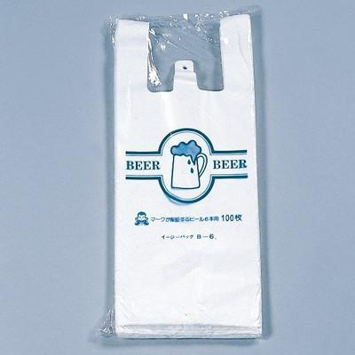 巾290(仕上巾175)×長さ480mm/マチ57.5mm福助工業 イージーバッグ ビール・酒用 ビール4本用 (2000枚)