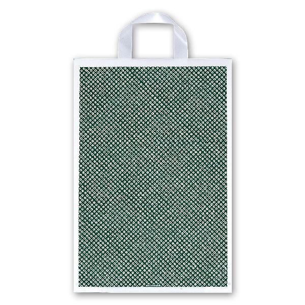 厚み0.055mm/仕上巾320mm/長さ380mm/ガゼット57.5mm福助工業 カルチャーバッグ規格品(Hタイプ) しぼり柄(草) 小 (500枚)