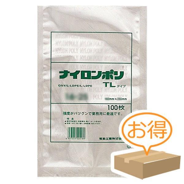 巾240×長さ360mm福助工業 ナイロンポリ TLタイプ規格袋 24-36 24-36 24-36 (1000枚) 125