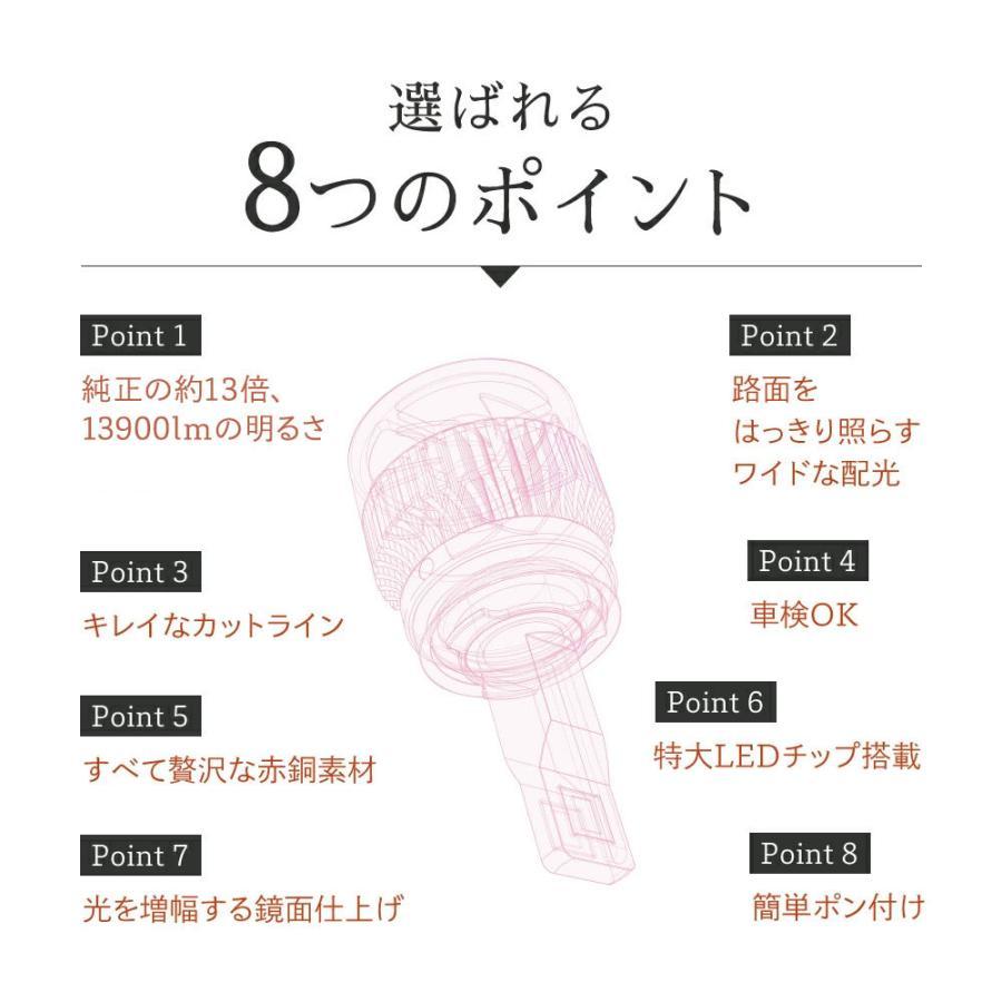 HID屋 13000lm LED フォグランプ イエロー 実測値 13000lm H8 H11 H16 HB4 爆光 3000K 黄色 イエローフォグ車検対応|tradingtrade|04
