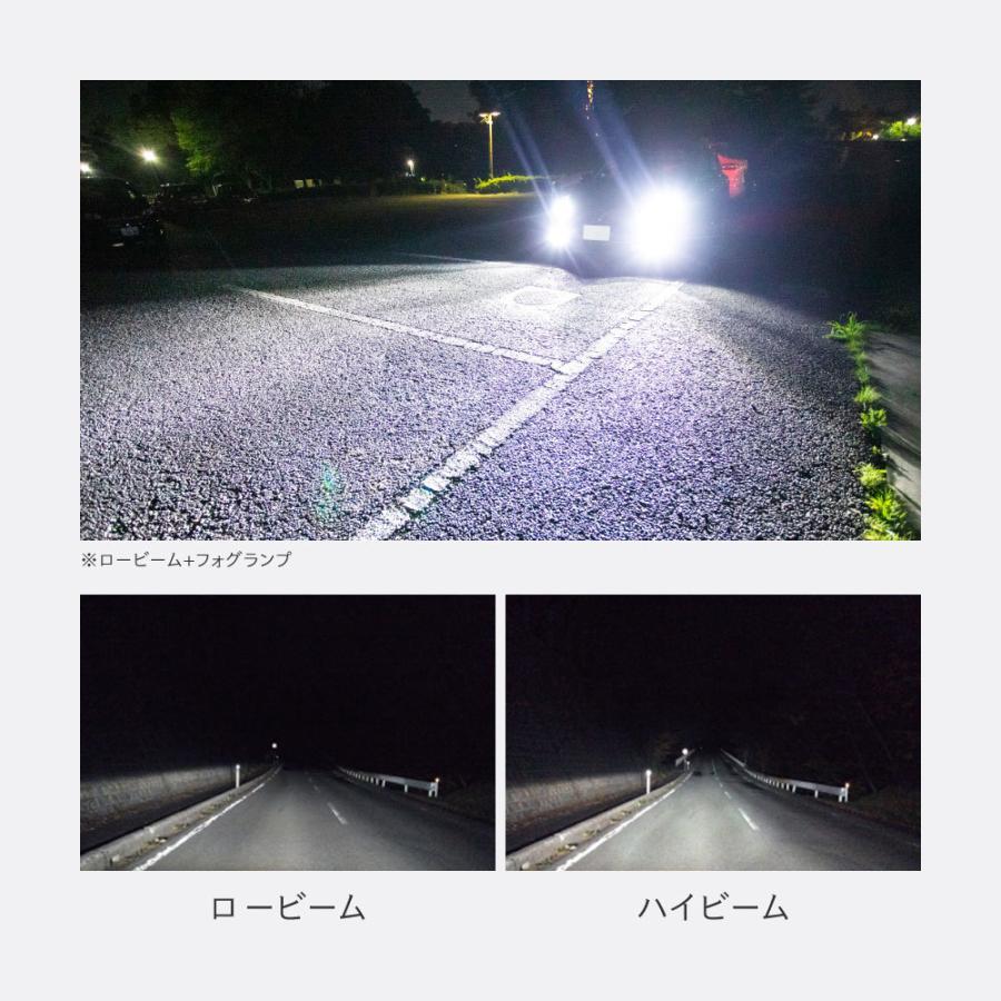 ランキング1位 爆光 H4 HiLo H8/H11 、H7 LEDヘッドライト ドライバーユニット内蔵 12600LM ホワイト 6500k 2本1セット 車検対応 一年保証 送料無料 HID屋 tradingtrade 07