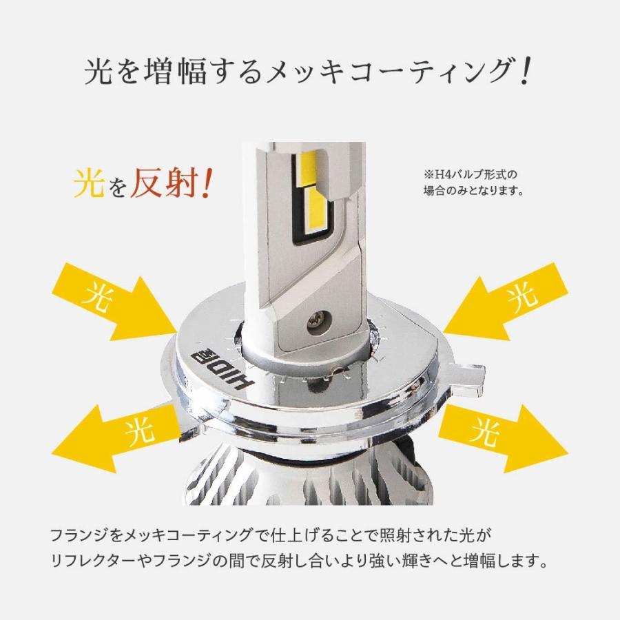 55W HIDよりも明るい LEDヘッドライト Mシリーズ H1 H3 H3C h4 H7 H8 H11 H16 H10 HB3 HB4 HIR2 PSX24W PSX26W 爆光17880lm 6500k 車検対応 フォグランプ tradingtrade 18
