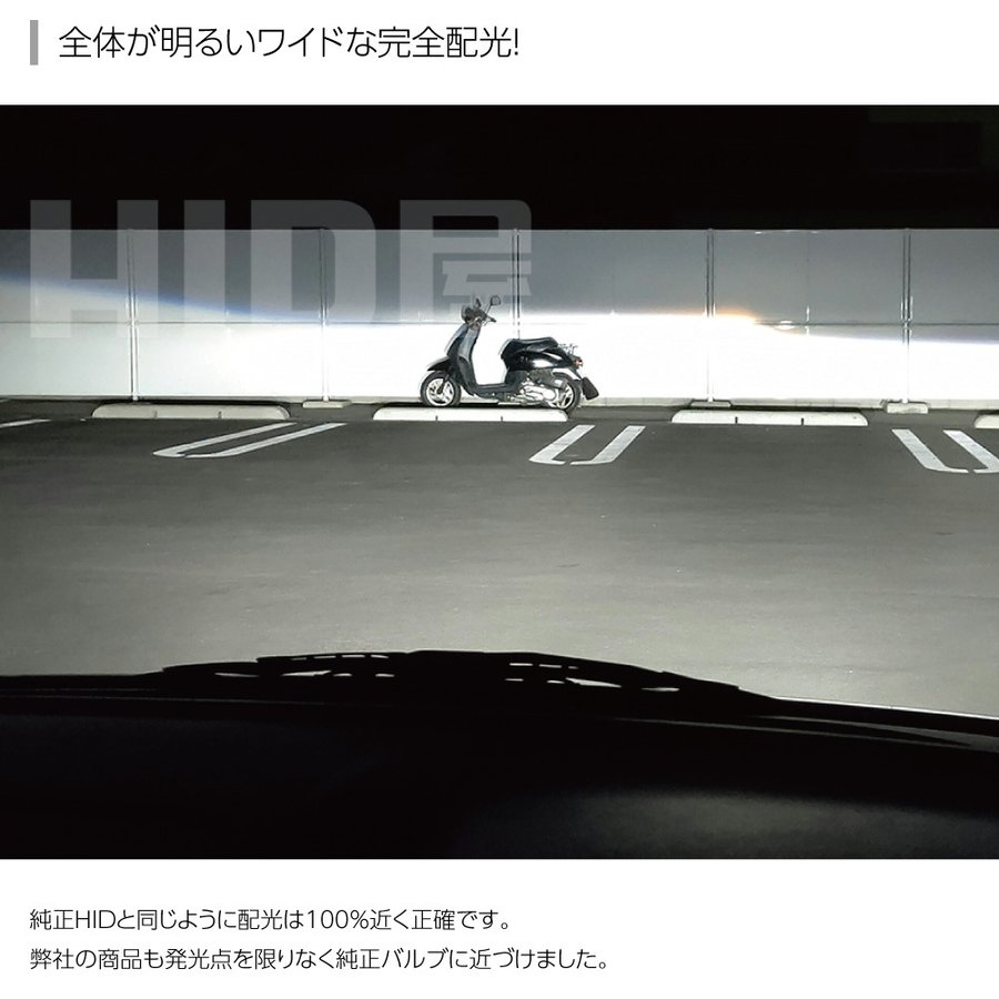 HID屋 LEDヘッドライト D1S/D3S 12200lm 6500k ホワイト 35W 2本1セット 車検対応 純正交換用 LEDバルブ 加工不要 ワーニングキャンセラー内蔵 輸入車 Dシリーズ|tradingtrade|09
