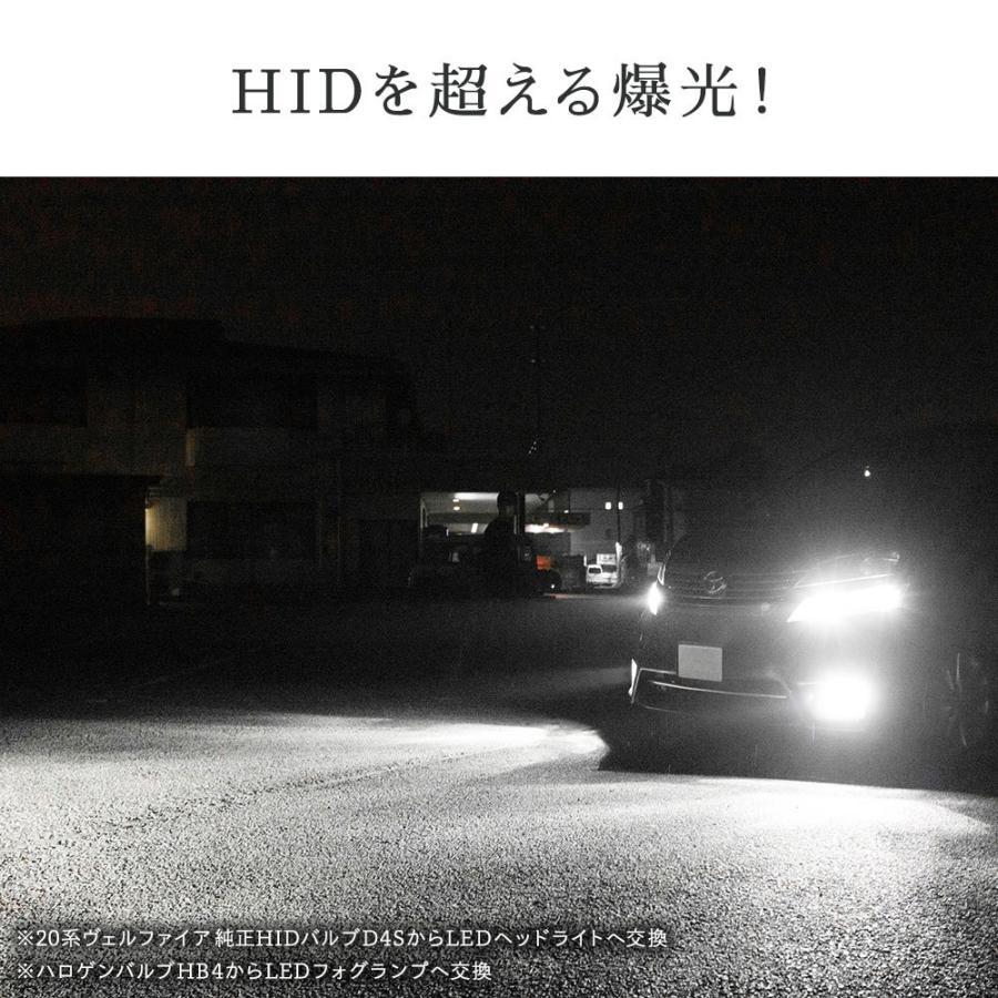 HID屋 LEDヘッドライト D2S D2R D4S D4R 12200lm 6500k ホワイト 35W 2本1セット 車検対応 加工不要 純正HIDを簡単LED化 ドライバー内蔵式 Dシリーズ tradingtrade 02