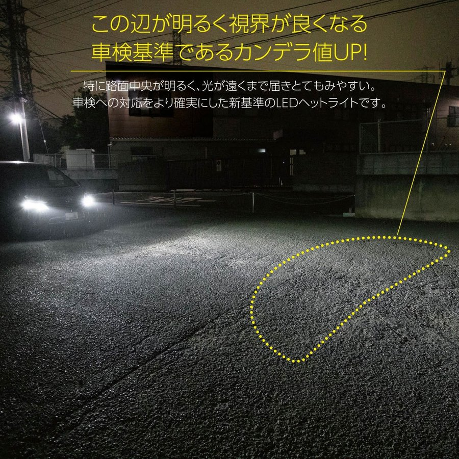 HID屋 LEDヘッドライト D2S D2R D4S D4R 12200lm 6500k ホワイト 35W 2本1セット 車検対応 加工不要 純正HIDを簡単LED化 ドライバー内蔵式 Dシリーズ tradingtrade 08
