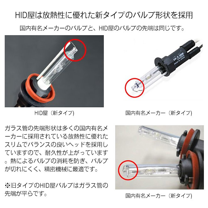HID屋 55W HIDキット スタンダードタイプ H4Hi/Lo リレー付/リレーレス H11 H9 H8 H16 HB4 HB3 H7 H3C H3 H1 バルブ 3000K 4300k 6000k 8000k 12000K|tradingtrade|18