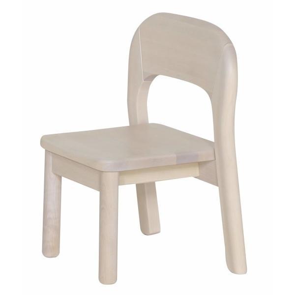 大和屋 業務用家具シリーズ 業務用家具シリーズ キッズチェア3才(2脚入り) 座面高さ21cm ホワイト 3才 3歳~ 2台